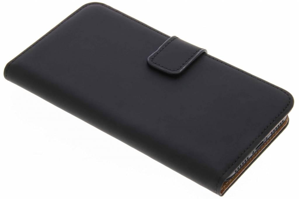 Schwarzes Luxus Bookcase für iPhone Xs / X