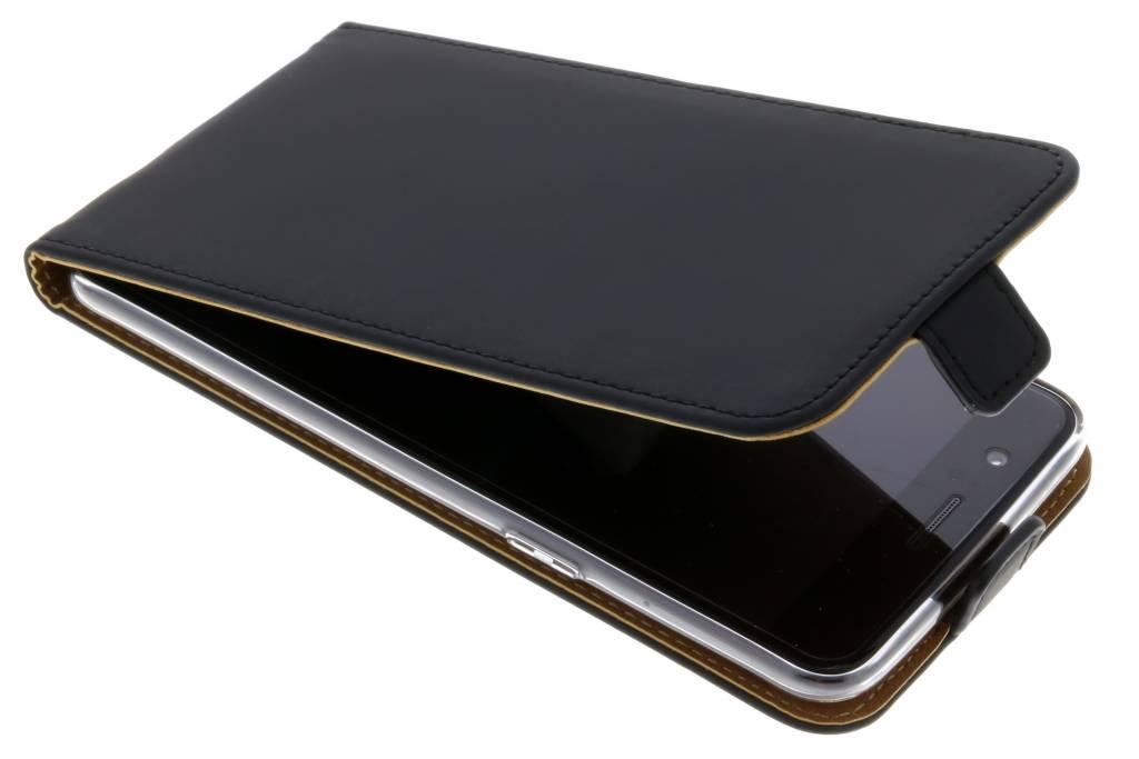 Schwarzer Luxus TPU Flipcase OnePlus 5