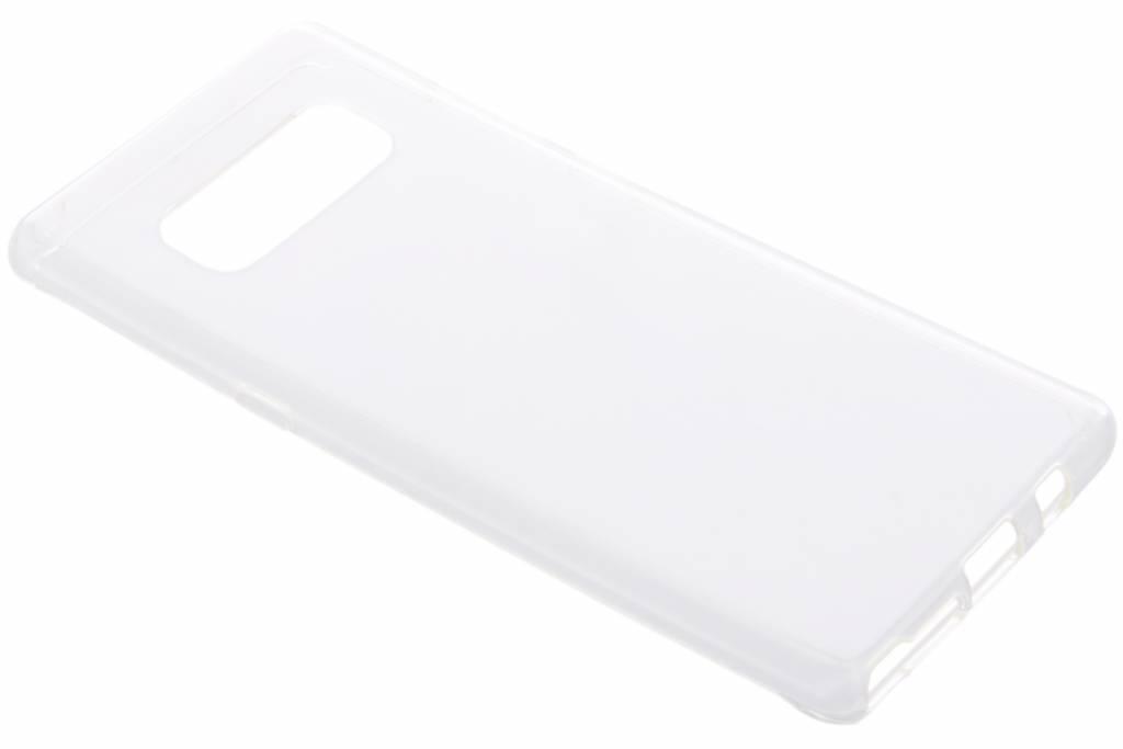 Transparentes Gel Case für Samsung Galaxy Note 8
