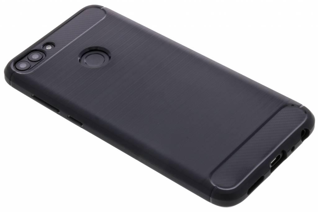 Schwarzer Brushed TPU Case Huawei P Smart