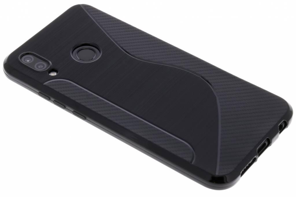 Schwarze S-Line TPU Hülle für Huawei P20 Lite