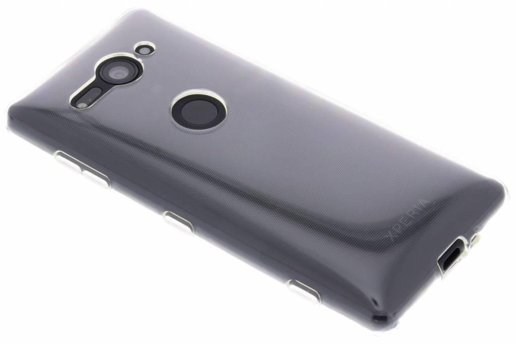 Transparentes Gel Case für das Sony Xperia XZ2 Compact