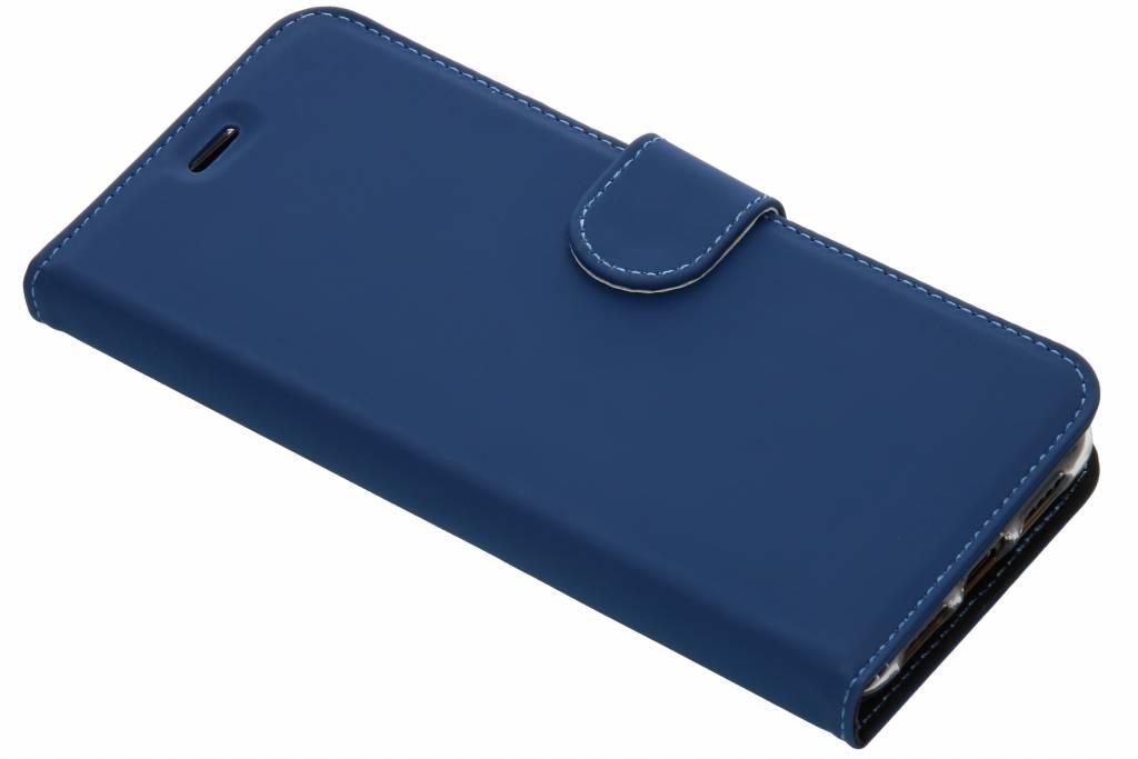 Accezz Blaues Wallet TPU Booklet für das Huawei P20 Pro