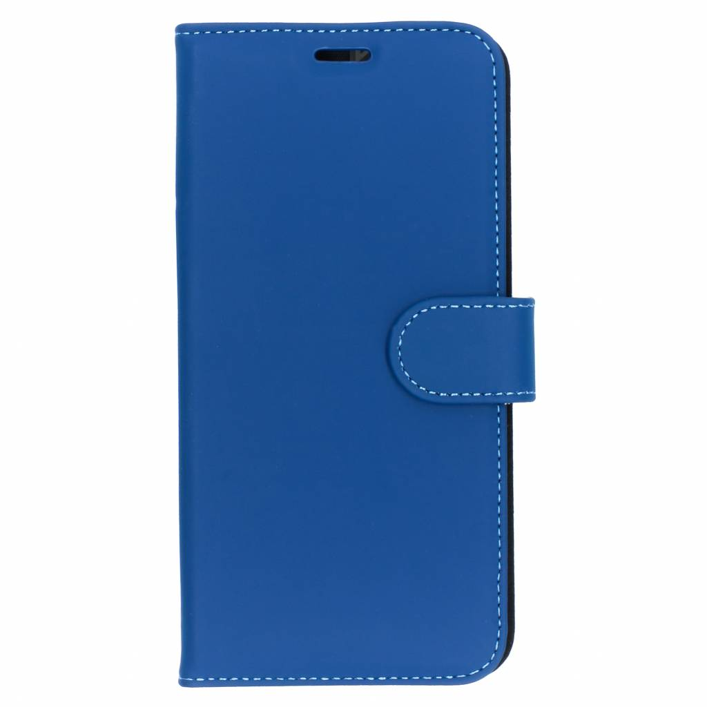 Accezz Wallet TPU Booklet Blau für das Huawei P Smart Plus