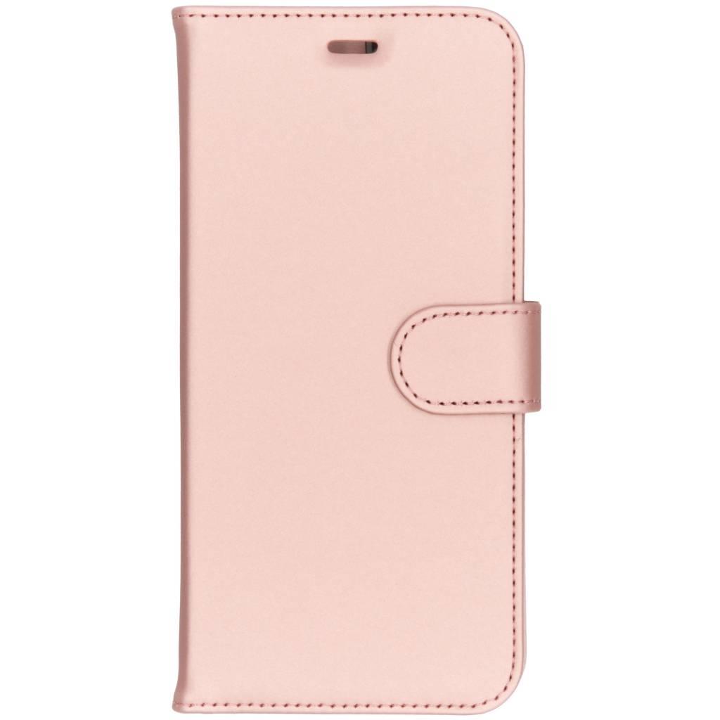 Accezz Wallet TPU Booklet Roségold für das Samsung Galaxy J6 Plus