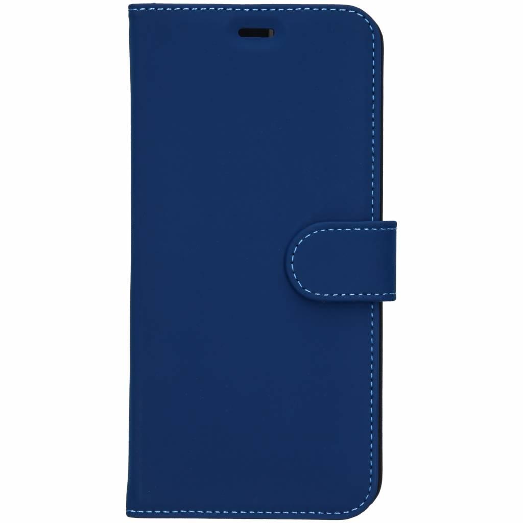 Accezz Wallet TPU Booklet Blau für das Samsung Galaxy J6 Plus