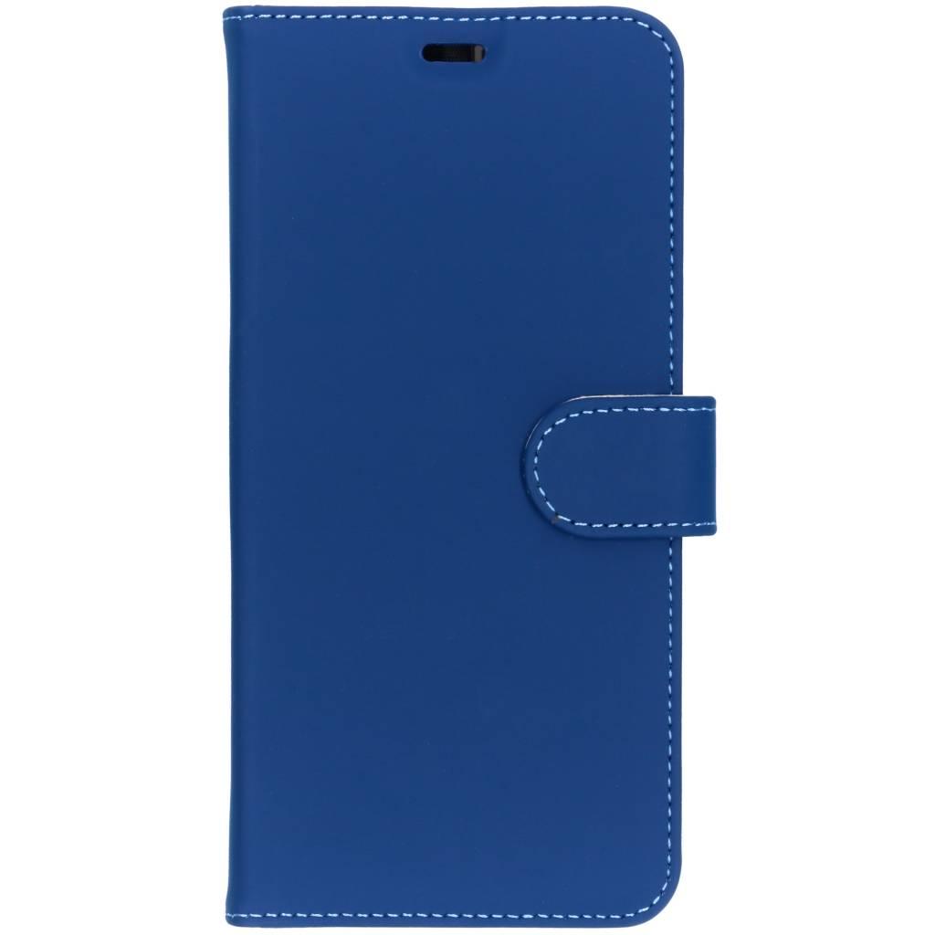 Accezz Wallet TPU Booklet Blau für das Samsung Galaxy A9 (2018)