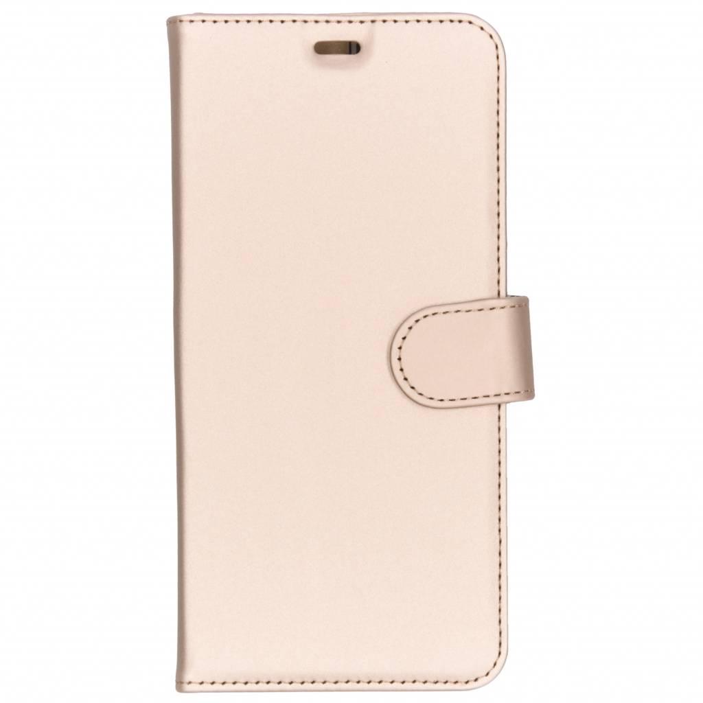 Accezz Wallet TPU Booklet Gold für das Samsung Galaxy A9 (2018)