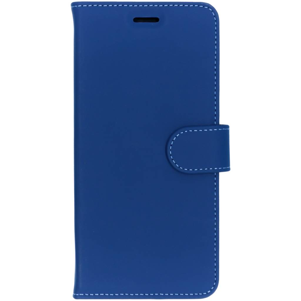 Accezz Wallet TPU Booklet Blau für das Sony Xperia XZ3