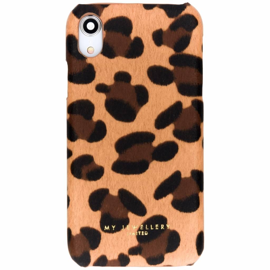 My Jewellery Leopard Print Design Hardcase Camel für das iPhone Xr