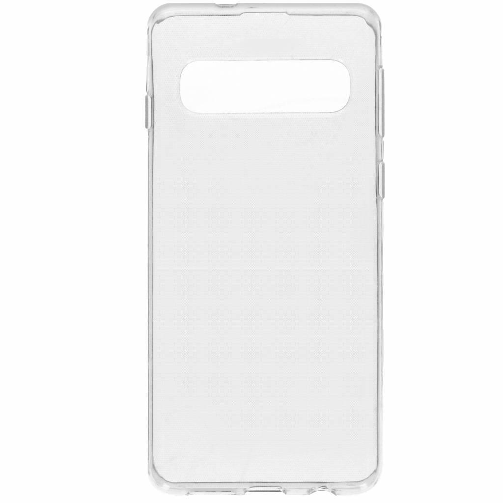 Accezz TPU Clear Cover Transparent für das Samsung Galaxy S10