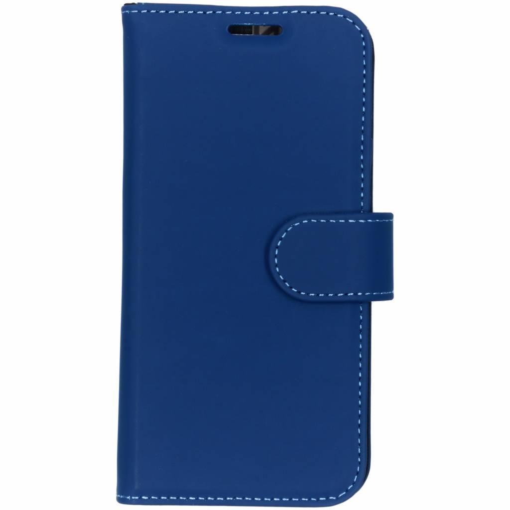 Accezz Wallet TPU Booklet Blau für das Samsung Galaxy S10e