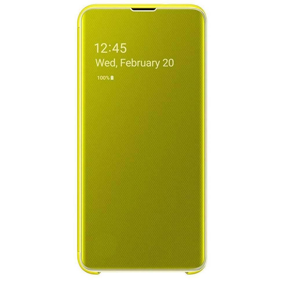 Samsung Clear View Standing Cover Gelb für das Galaxy S10e