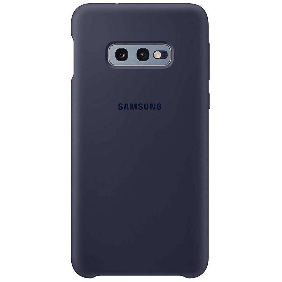 Samsung Original Silikon Cover Dunkelblau für das Galaxy S10e