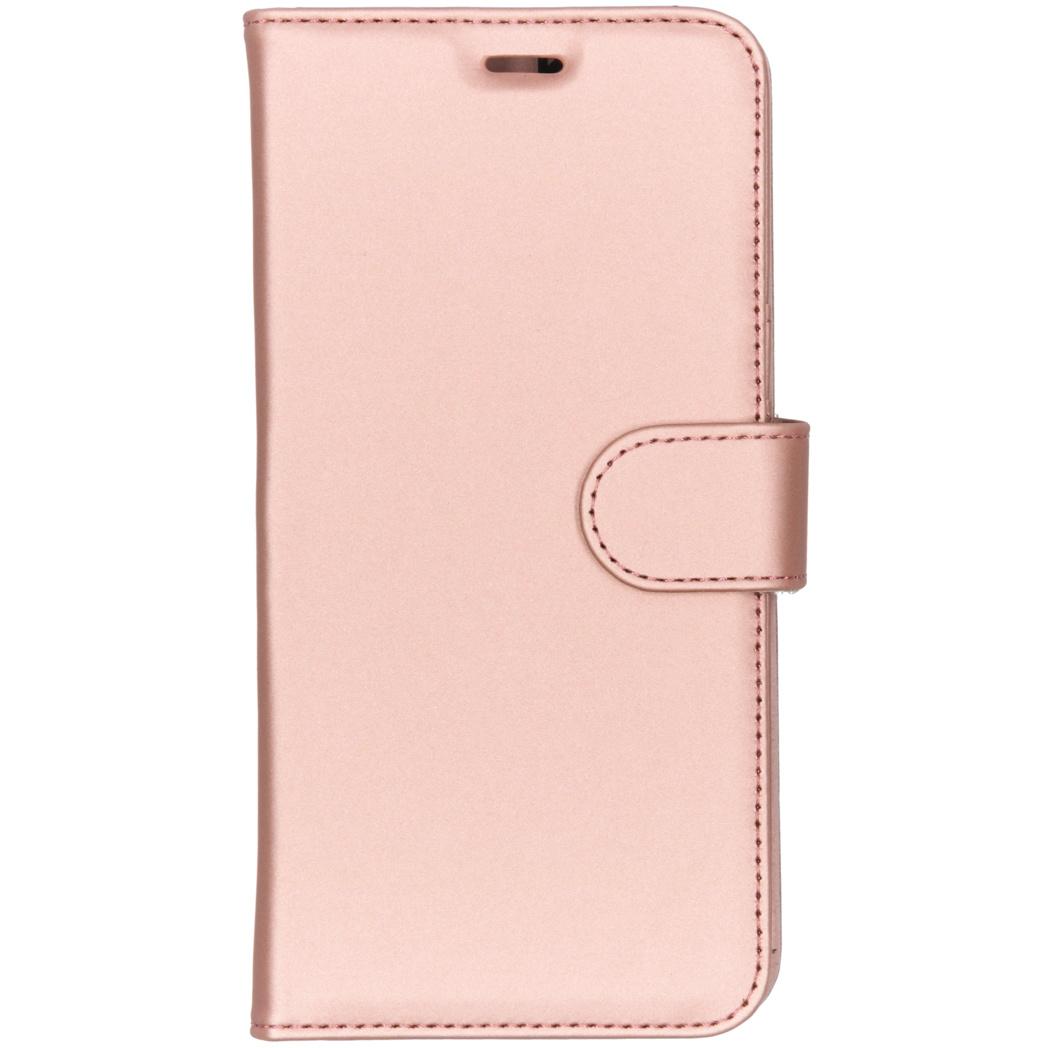 Accezz Wallet TPU Booklet Roségold für das Xiaomi Pocophone F1