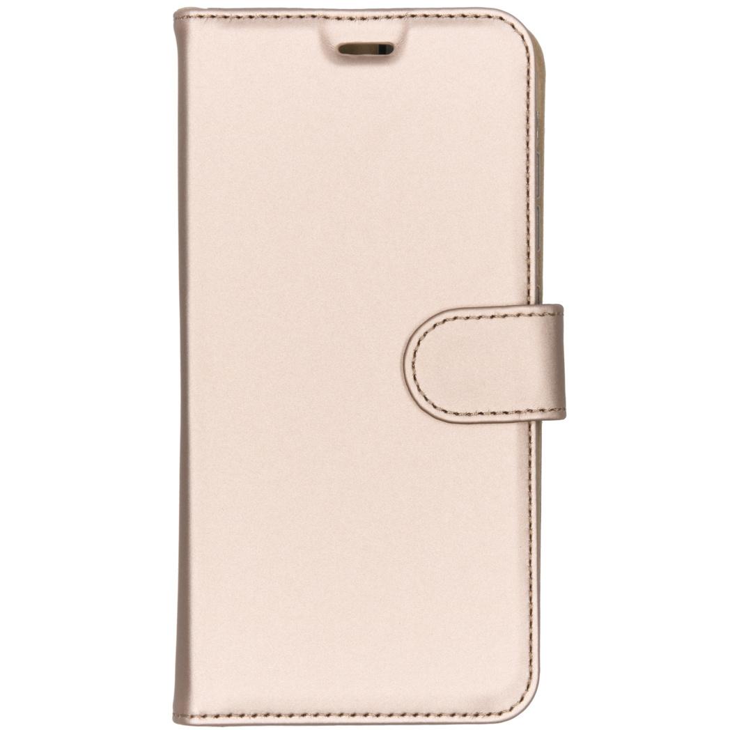 Accezz Wallet TPU Booklet Gold für das Xiaomi Pocophone F1