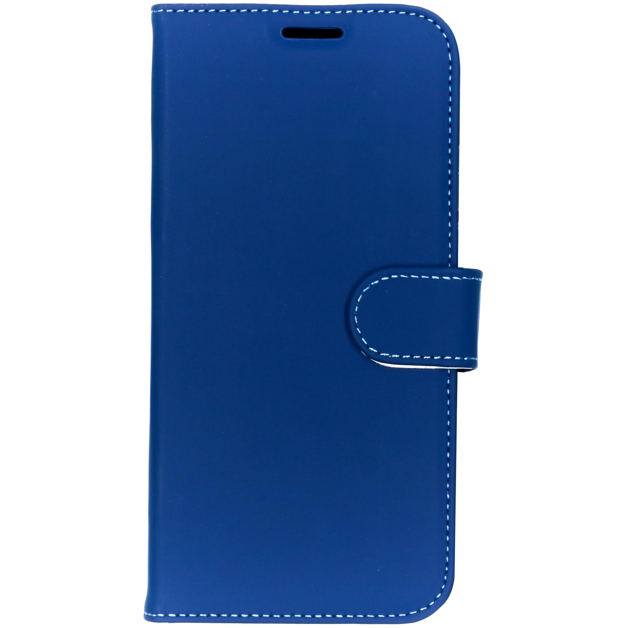 Accezz Wallet TPU Booklet Blau für das iPhone Xs Max