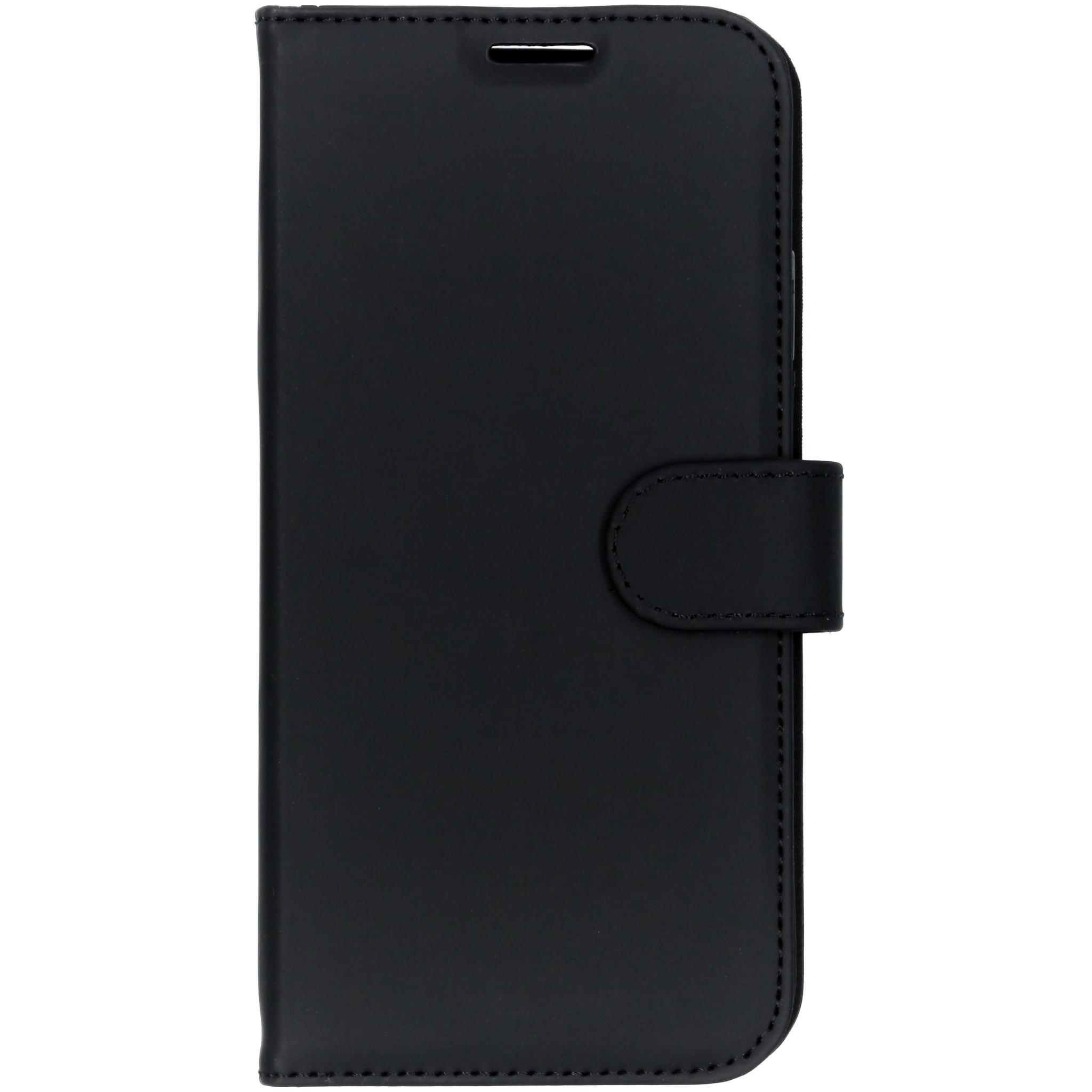 Accezz Wallet TPU Booklet Schwarz für das iPhone Xs Max