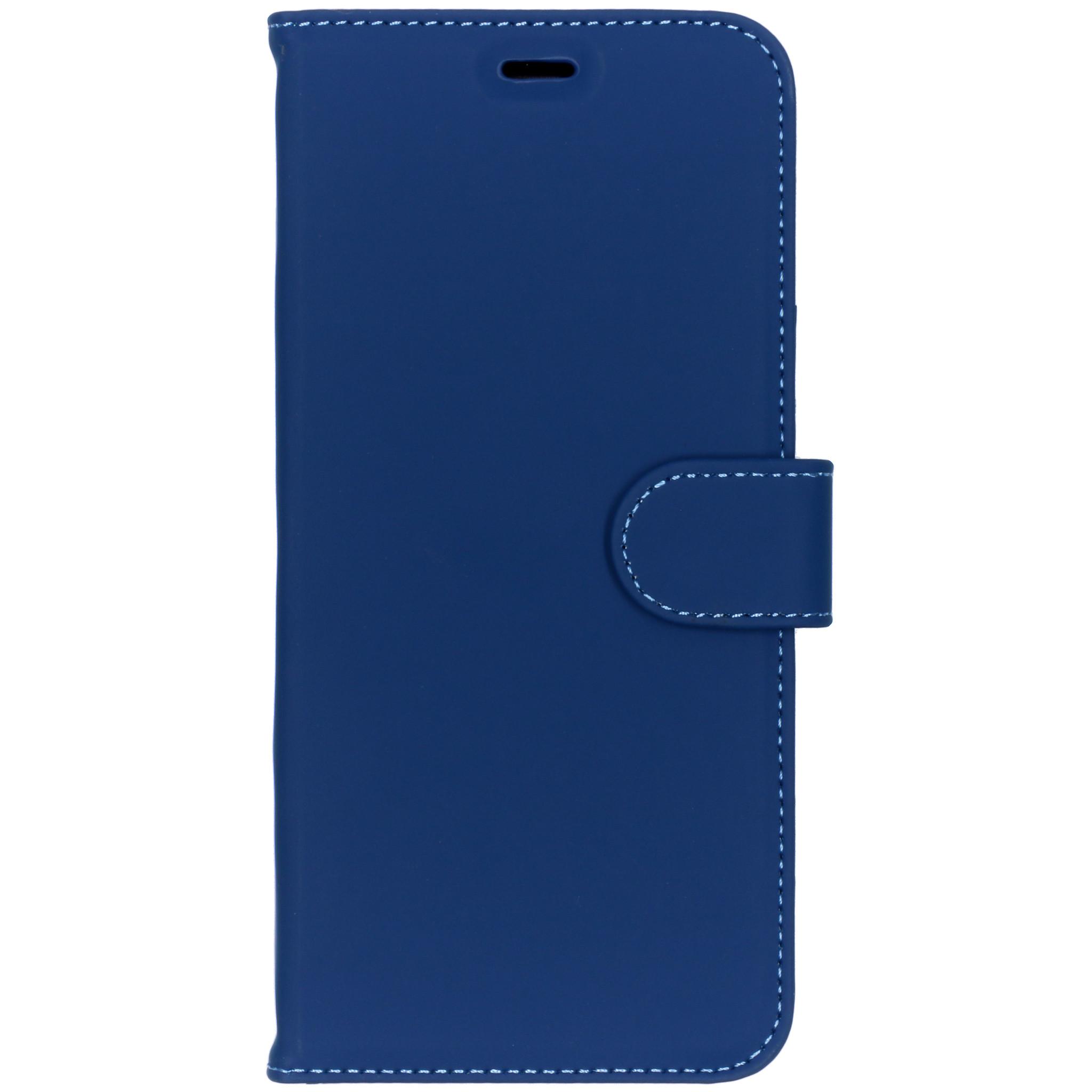 Accezz Blaues Wallet TPU Booklet Samsung Galaxy A6 Plus (2018)