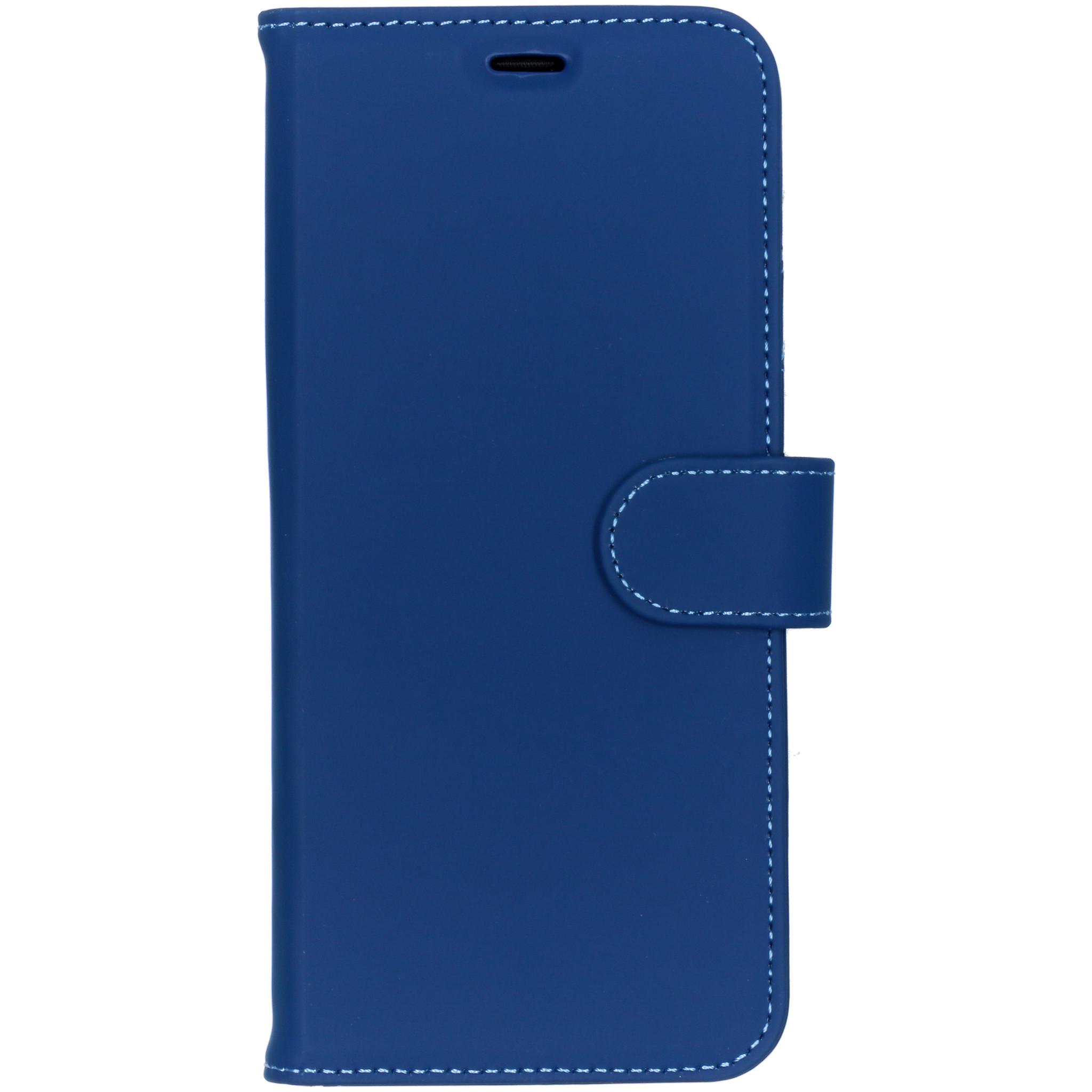 Accezz Blaues Wallet TPU Booklet für das Samsung Galaxy S9 Plus