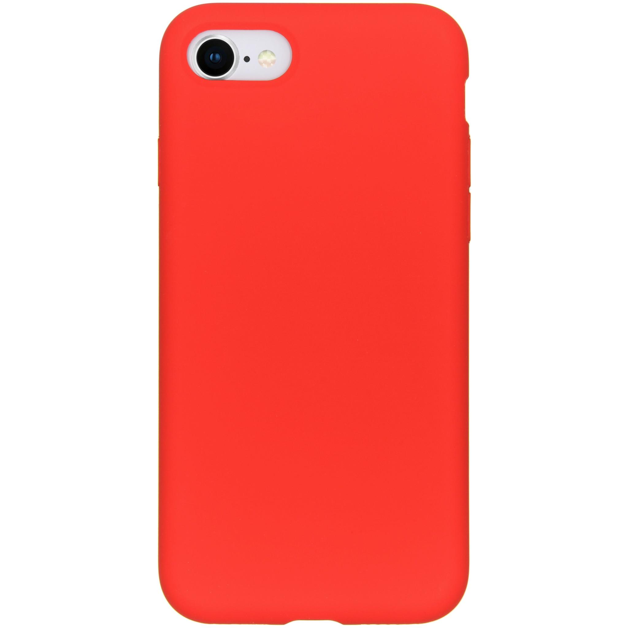 Accezz Liquid Silikoncase Rot für das iPhone SE (2020) / 8 / 7