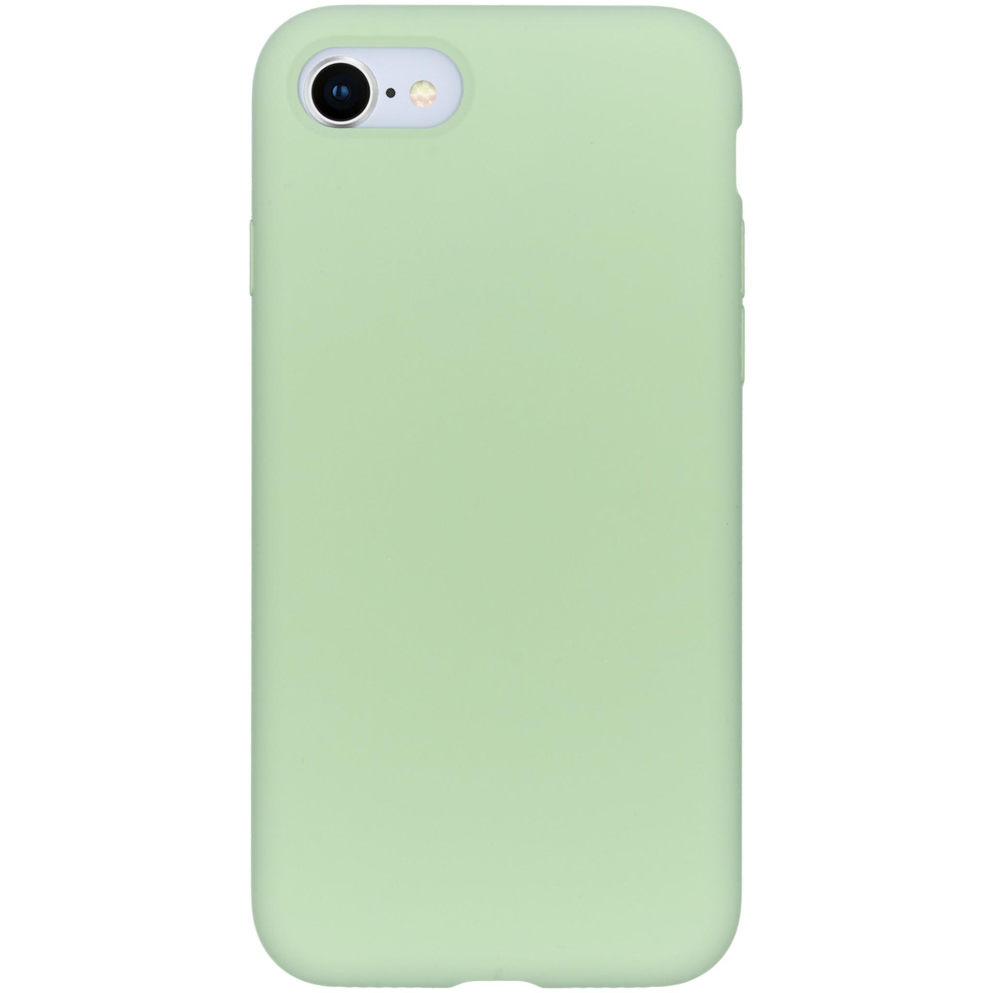 Accezz Liquid Silikoncase Grün für das iPhone SE (2020) / 8 / 7