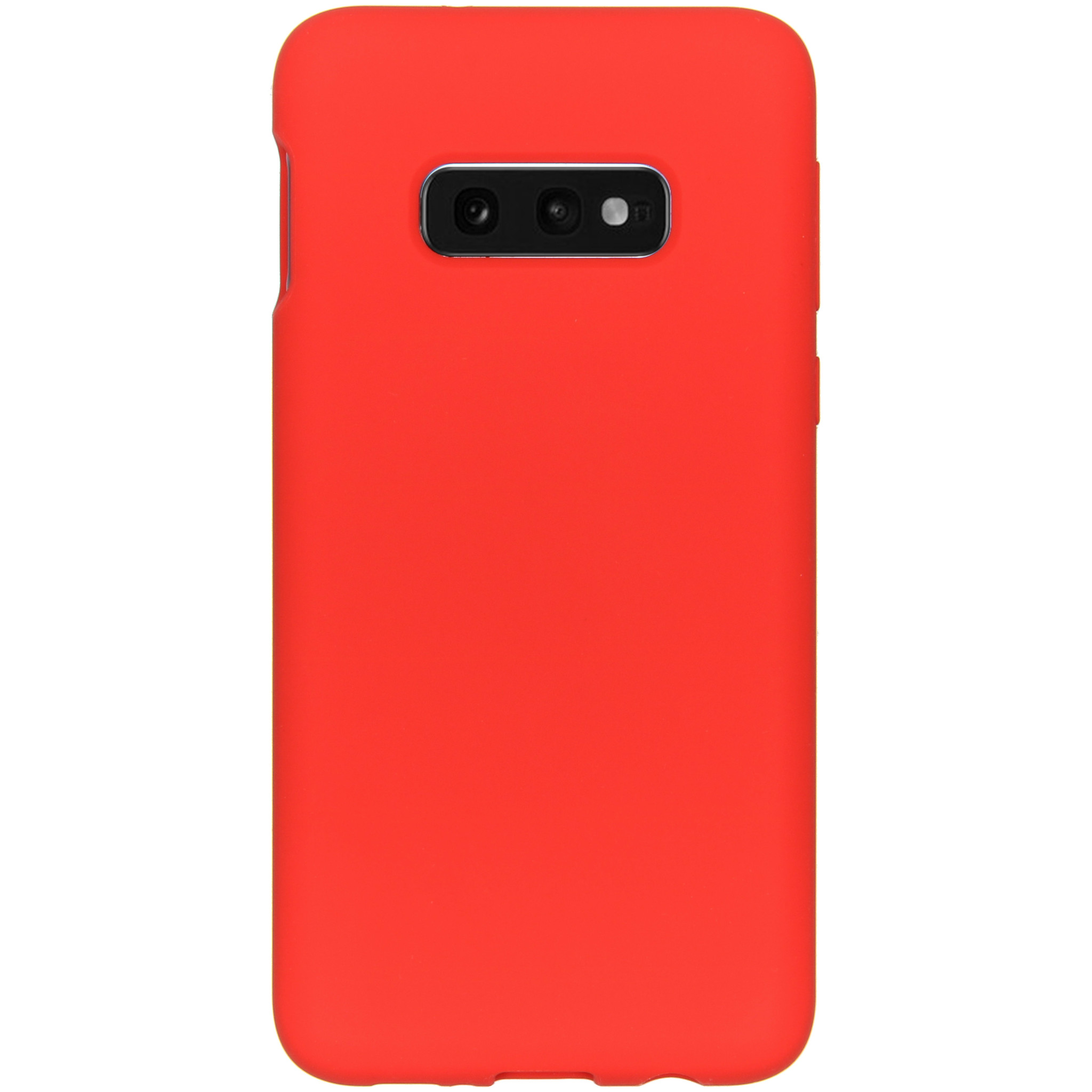 Accezz Liquid Silikoncase Rot für das Samsung Galaxy S10e