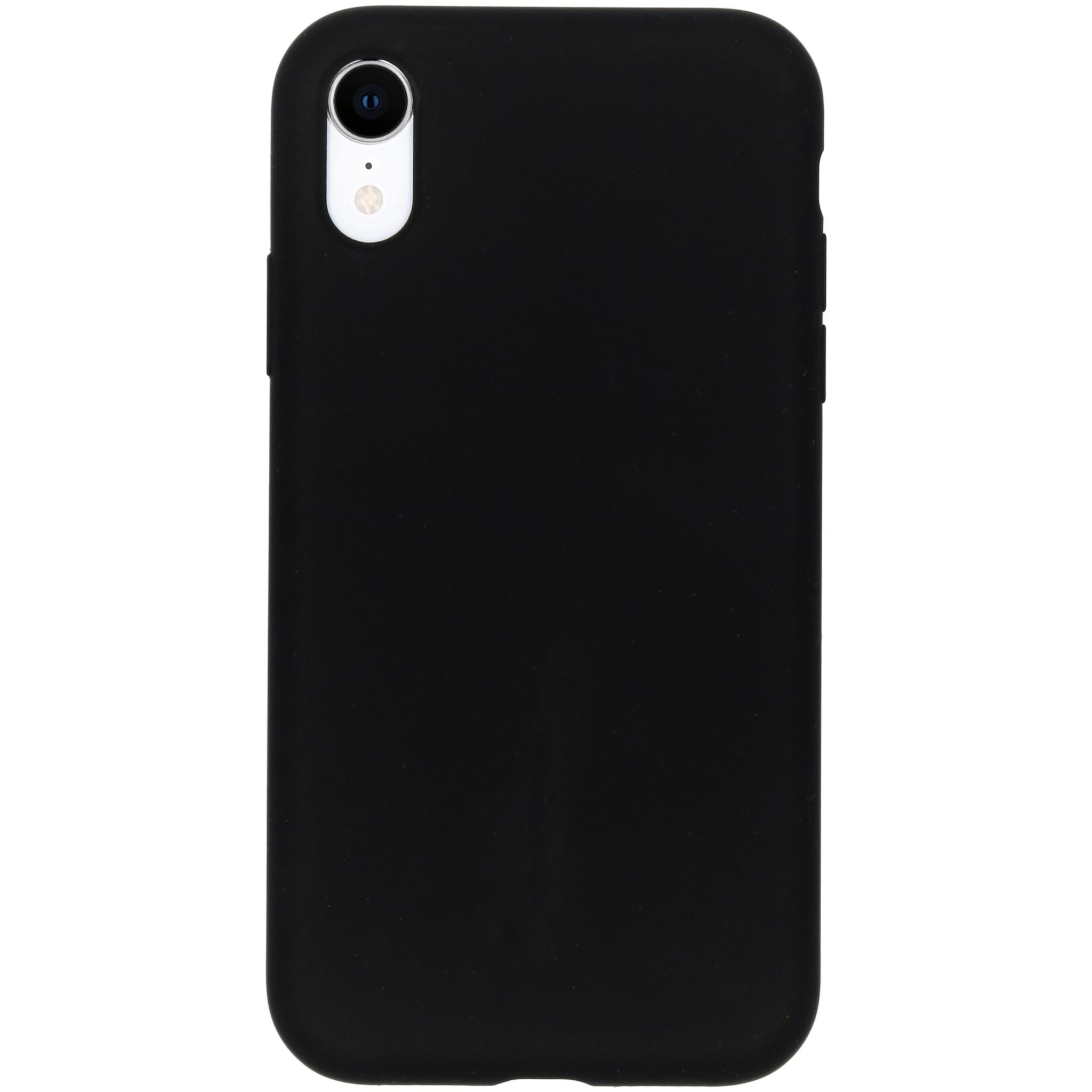 Accezz Liquid Silikoncase Schwarz für das iPhone Xr