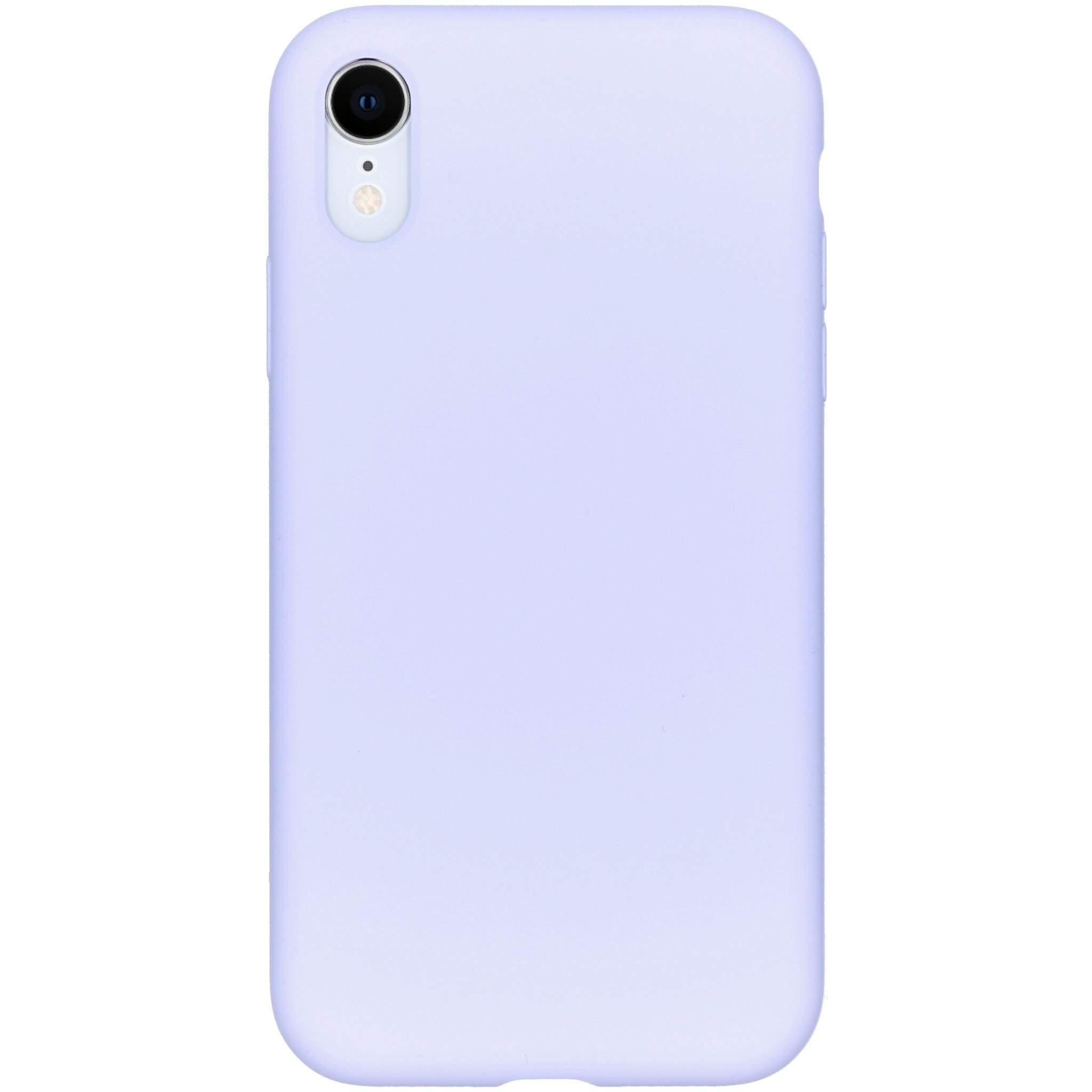 Accezz Liquid Silikoncase Lila für das iPhone Xr