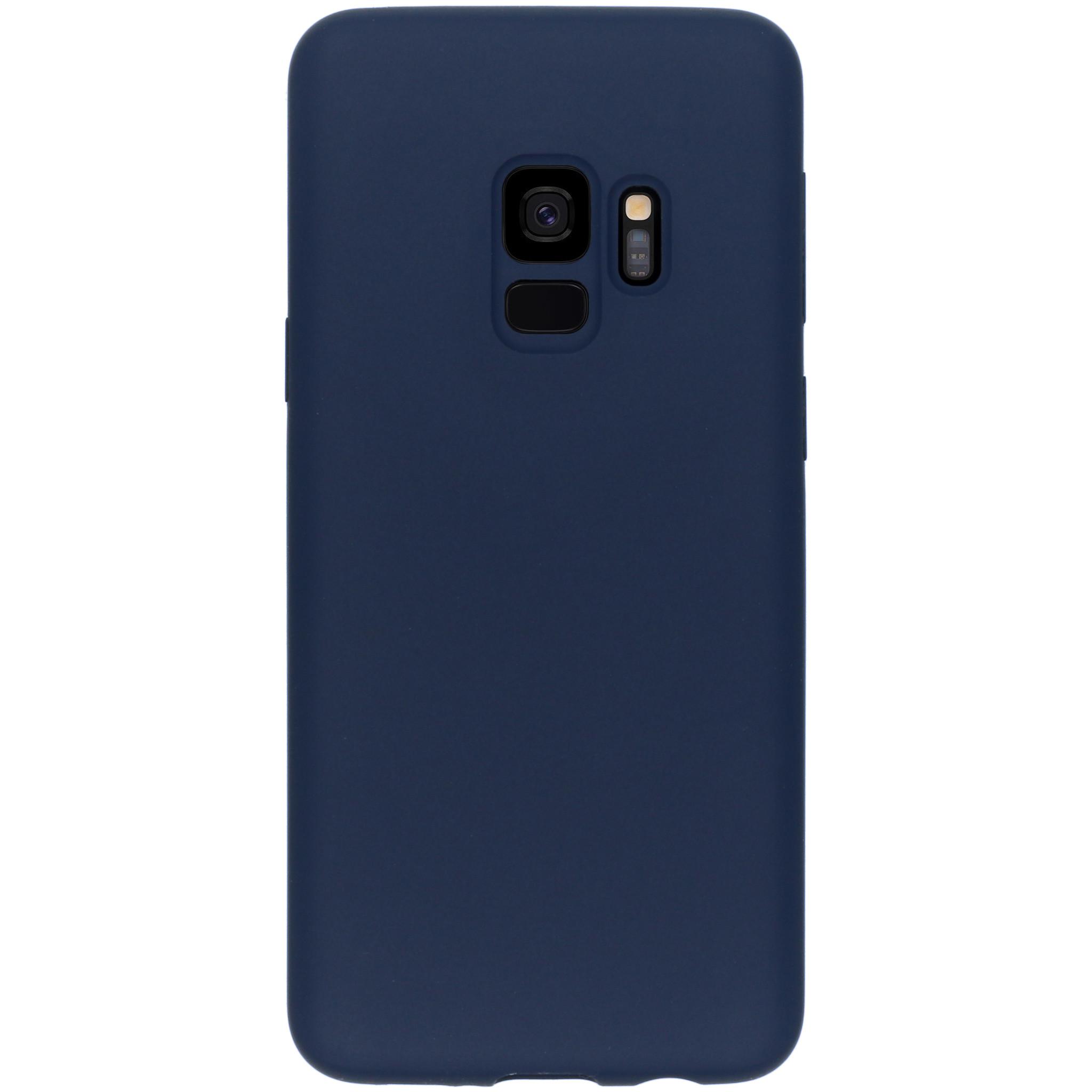 Accezz Liquid Silikoncase Blau für das Samsung Galaxy S9