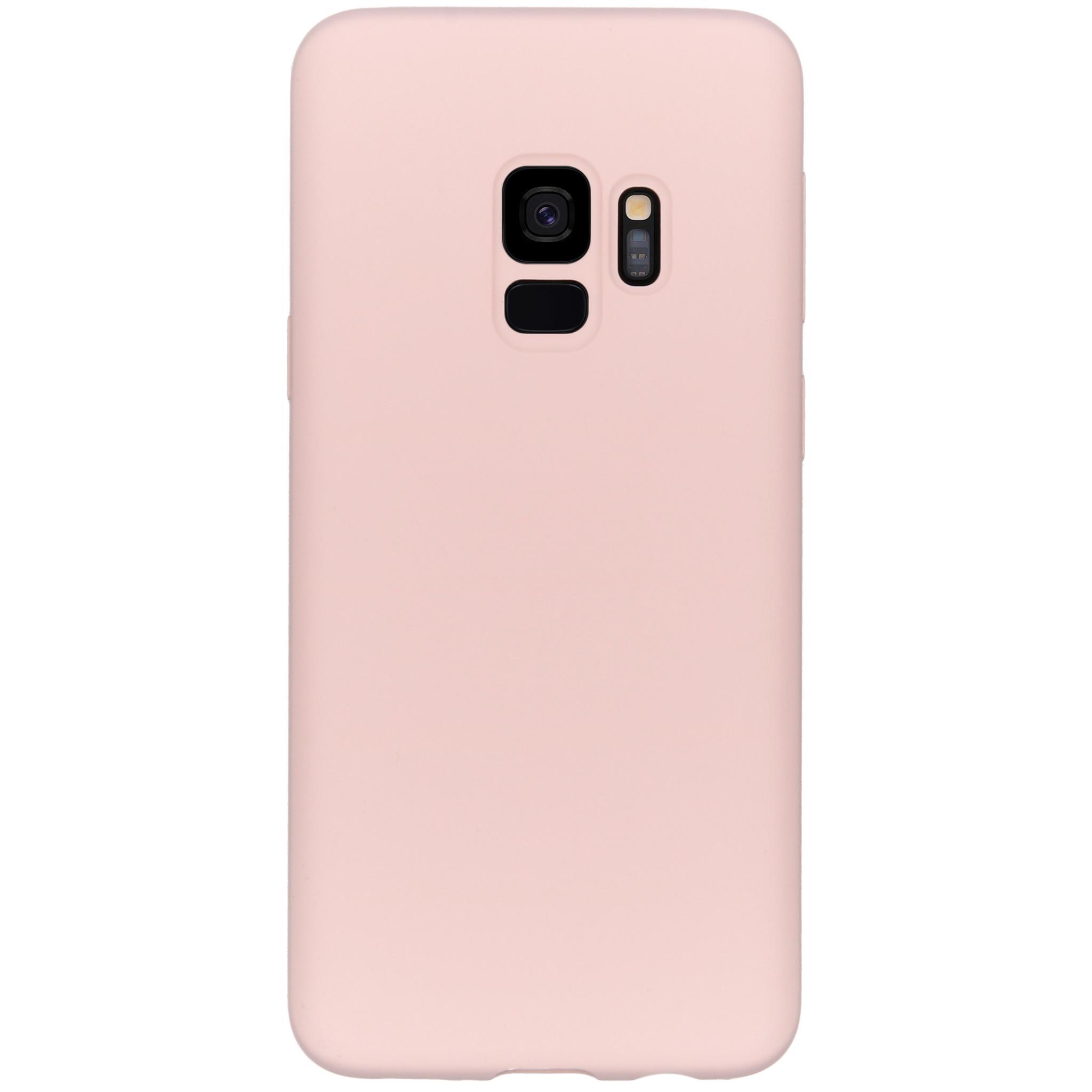Accezz Liquid Silikoncase Rosa für das Samsung Galaxy S9