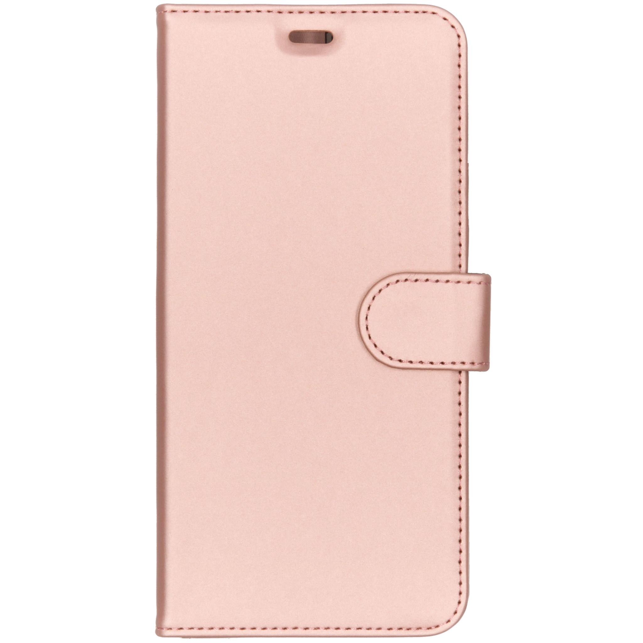 Accezz Wallet TPU Booklet Roségold für das Samsung Galaxy A9 (2018)