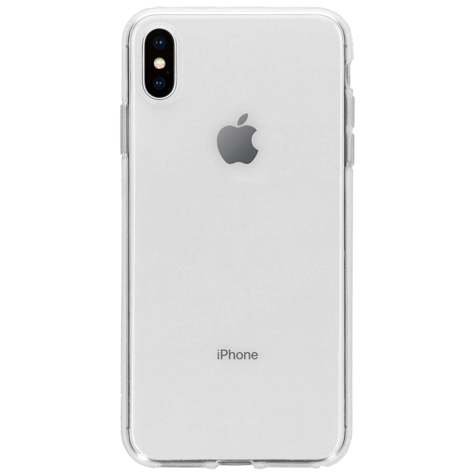 Accezz TPU Clear Cover Transparent für das iPhone Xs Max