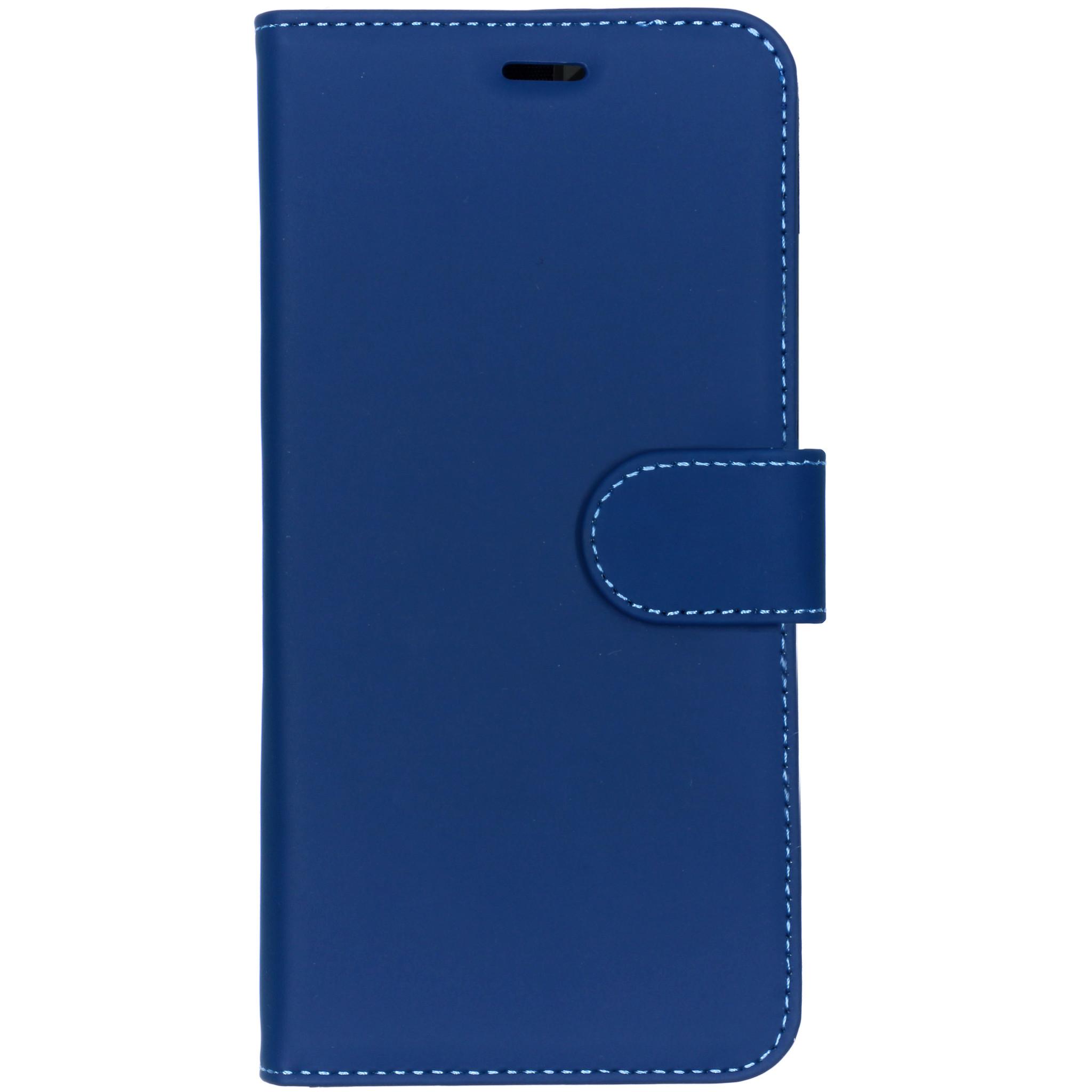 Accezz Wallet TPU Booklet Dunkelblau für das Nokia 8.1