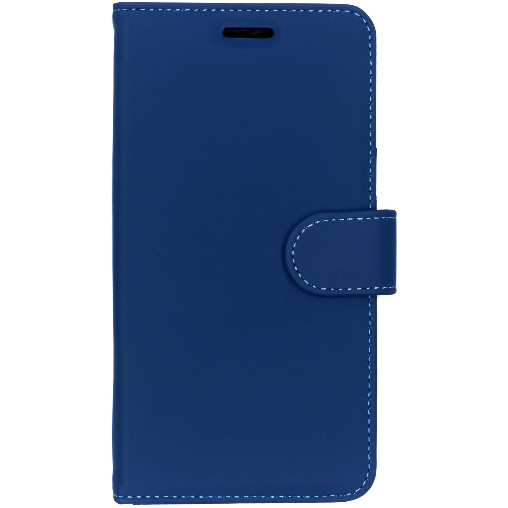 Accezz Blaues Wallet TPU Booklet für das Nokia 6.1