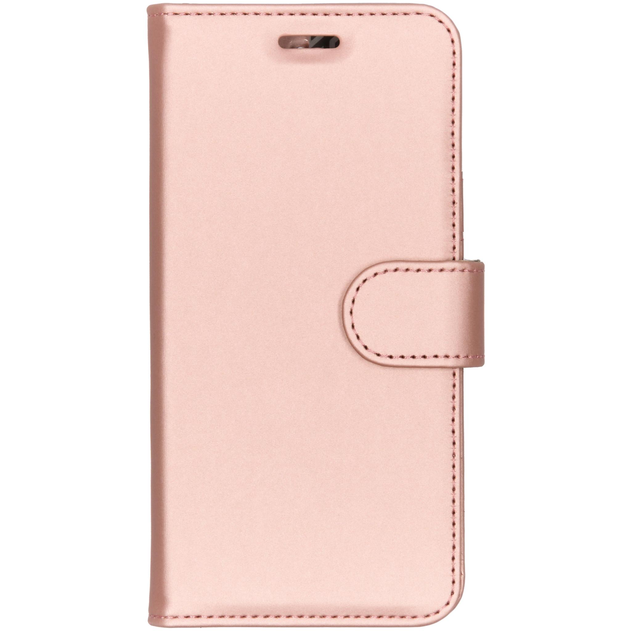Accezz Roségoldfarbener Wallet TPU Booklet für das Nokia 6.1