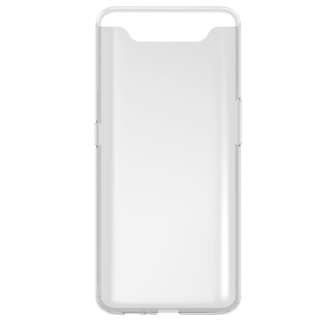 Accezz TPU Clear Cover Transparent für Samsung Galaxy A80