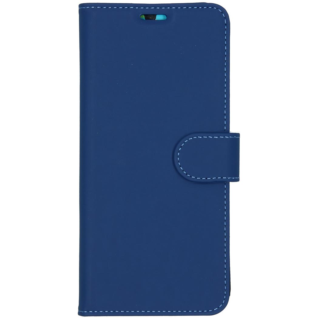 Accezz Wallet TPU Booklet Blau für das Huawei P30 Pro