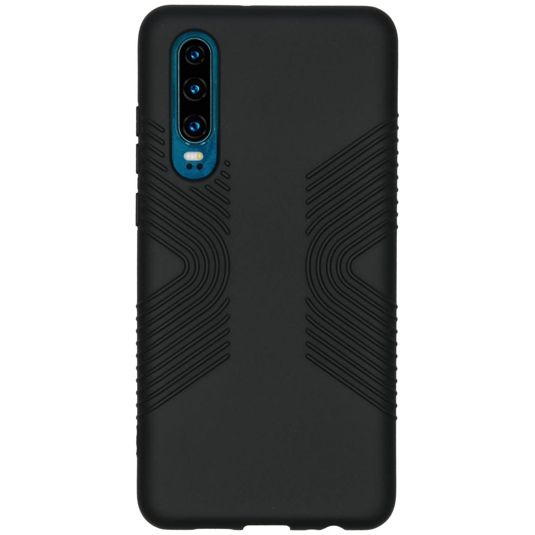 Accezz Impact Grip Backcover Schwarz für das Huawei P30