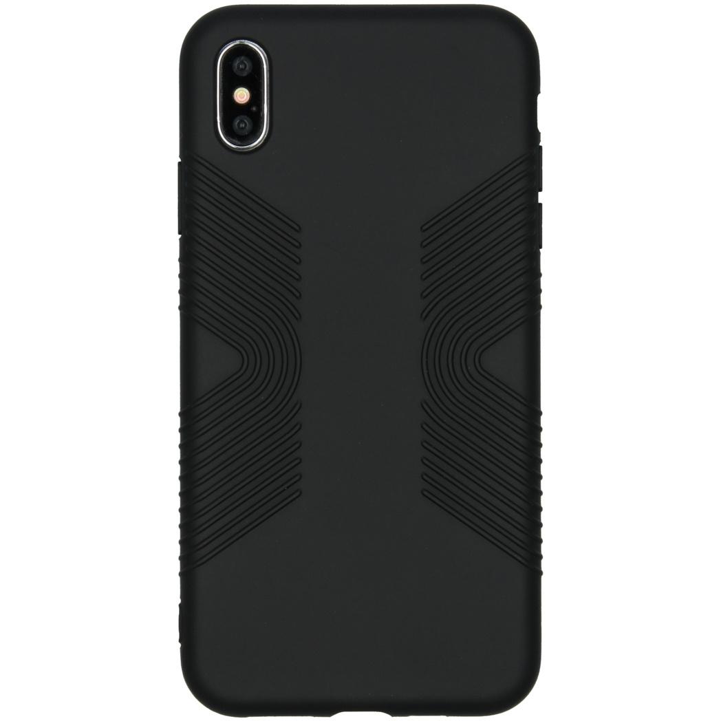 Accezz Impact Grip Backcover Schwarz für das iPhone Xs Max