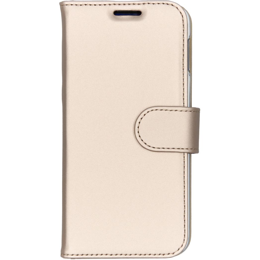 Accezz Wallet TPU Booklet Gold für das Samsung Galaxy S10e