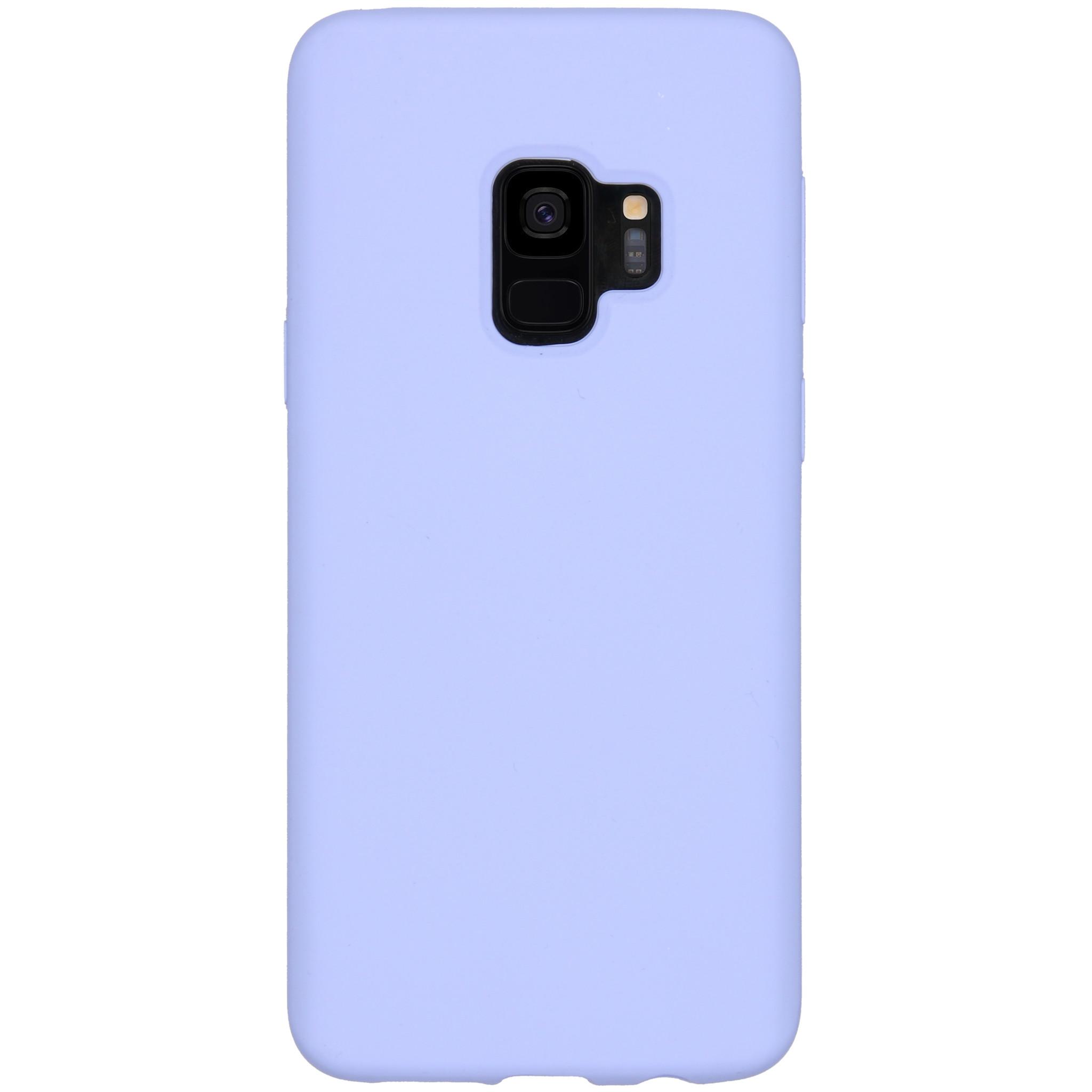 Accezz Liquid Silikoncase Lila für das Samsung Galaxy S9