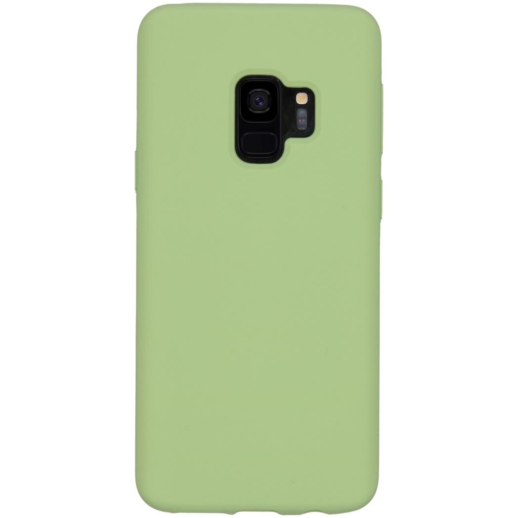 Accezz Liquid Silikoncase Grün für das Samsung Galaxy S9