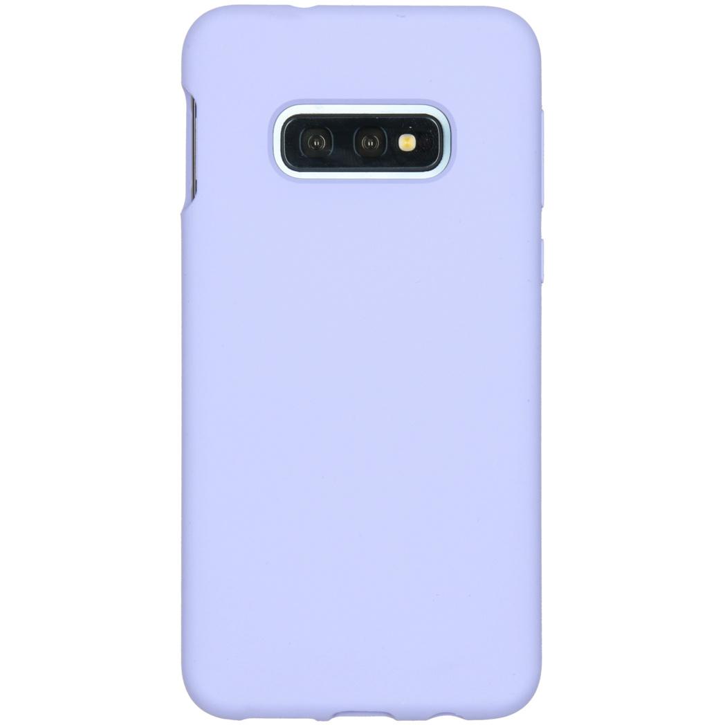 Accezz Liquid Silikoncase Lila für das Samsung Galaxy S10e