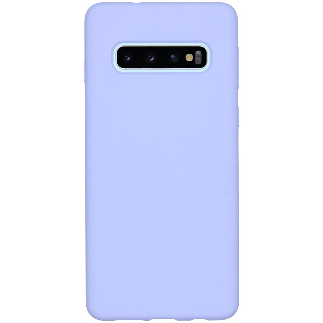 Accezz Liquid Silikoncase Lila für das Samsung Galaxy S10