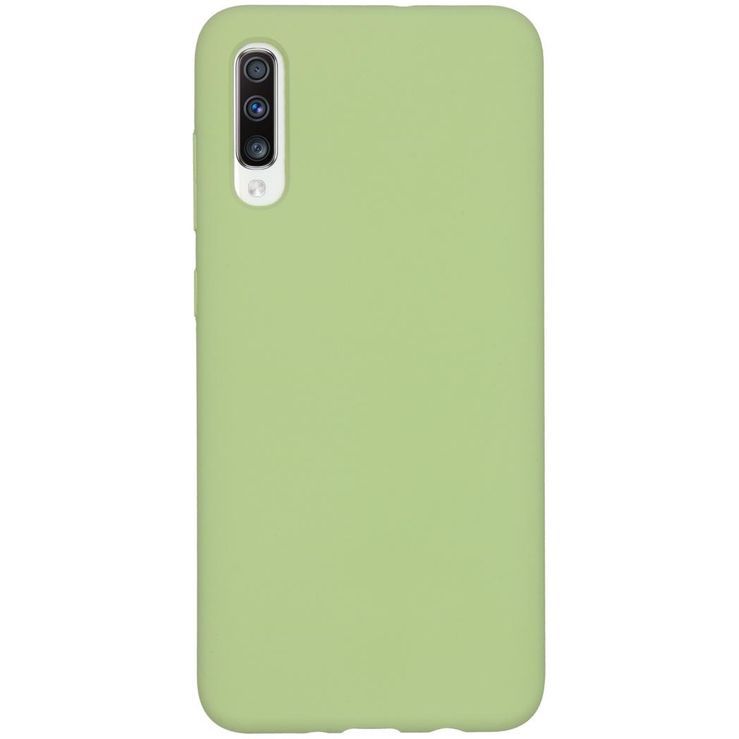Accezz Liquid Silikoncase Grün für das Samsung Galaxy A70