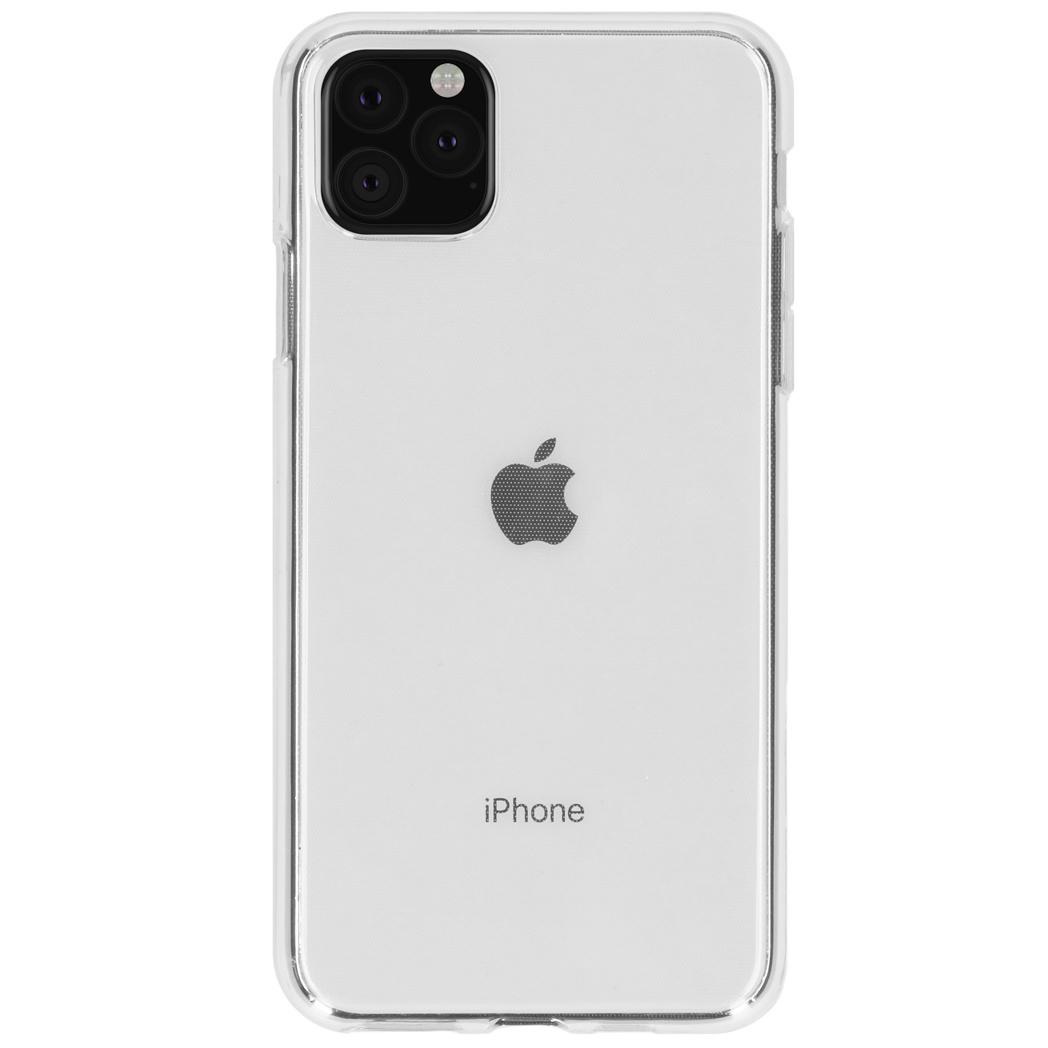 Accezz TPU Clear Cover Transparent für iPhone 11 Pro Max