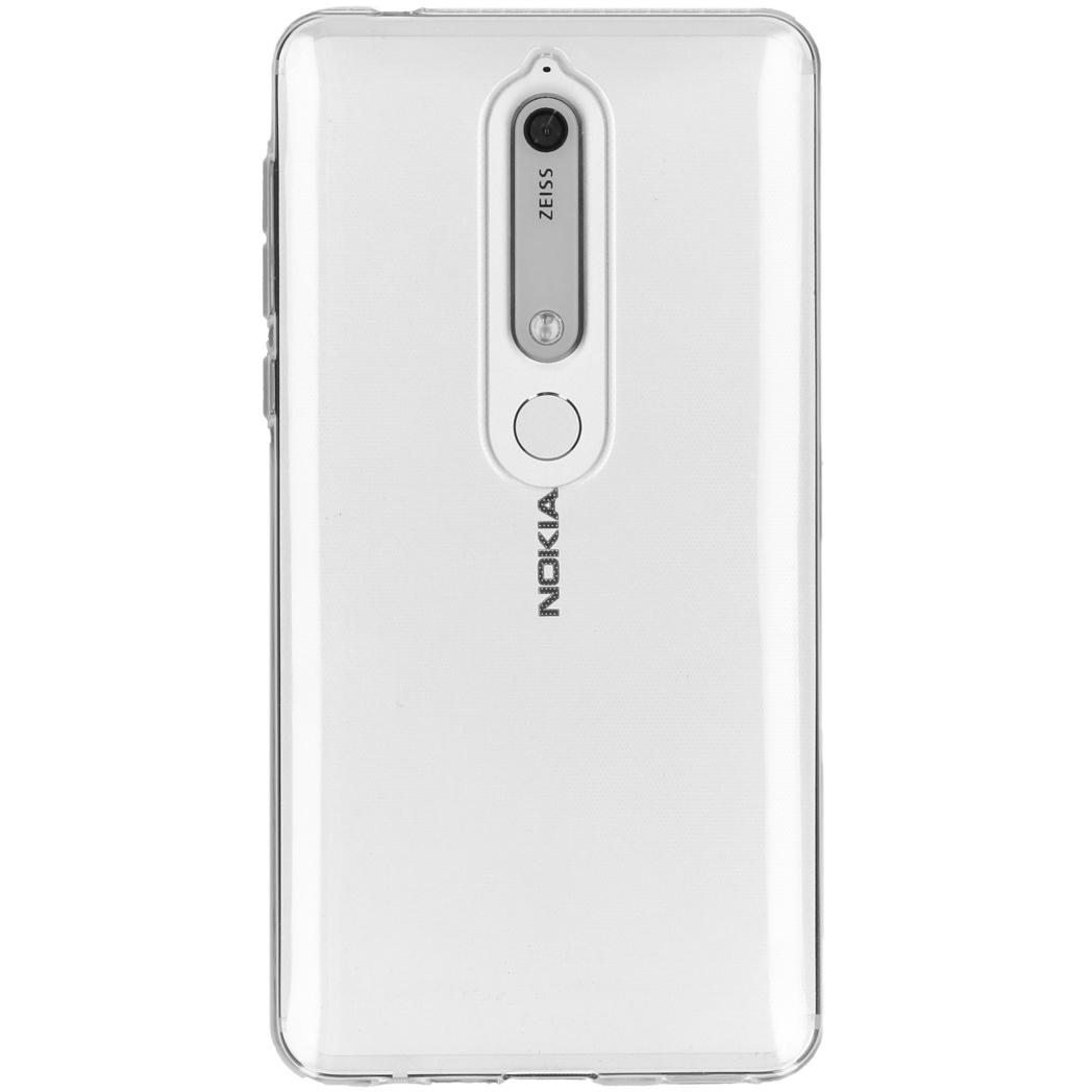 Accezz Transparentes TPU Clear Cover für das Nokia 6.1