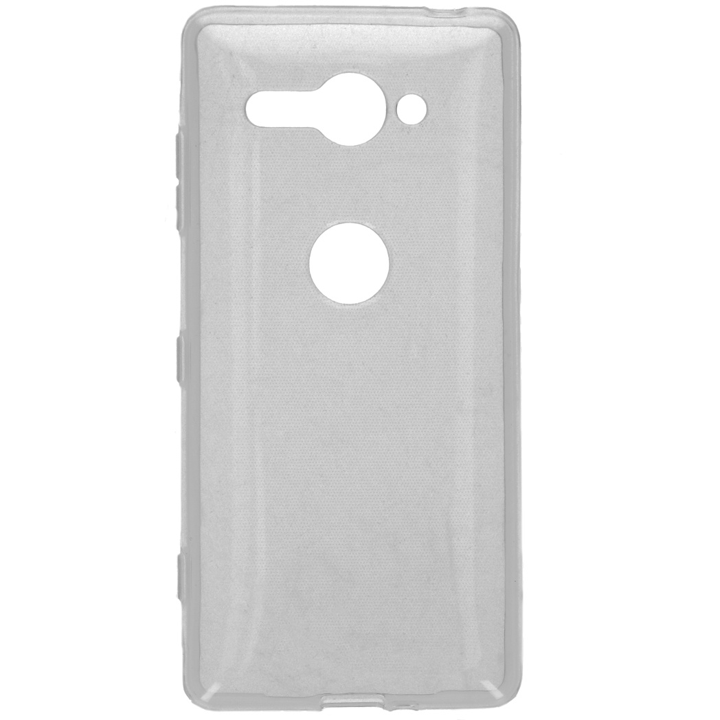 Accezz Transparentes TPU CCover für das Sony Xperia XZ2 Compact