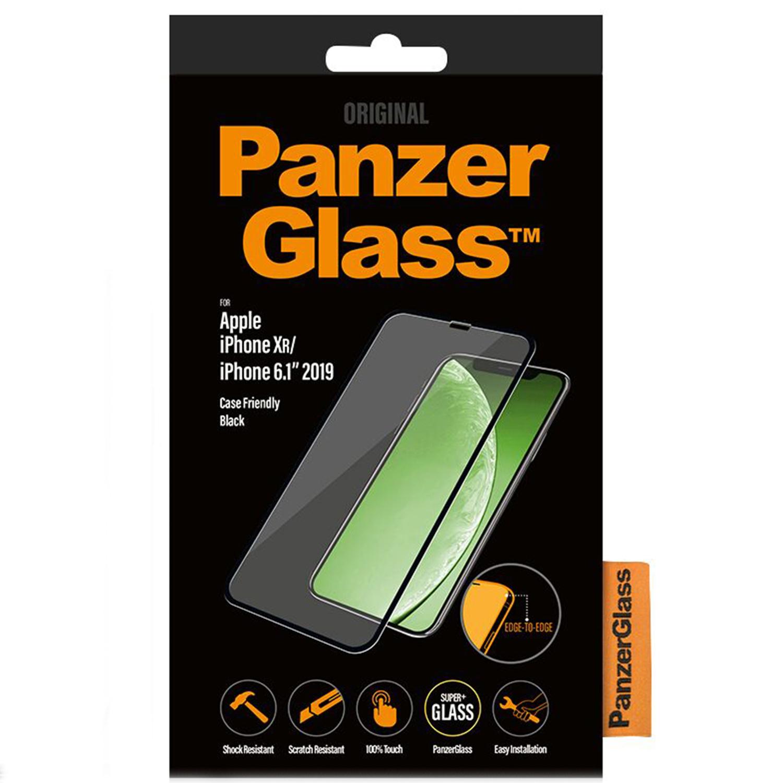 PanzerGlass Case Friendly Displayschutzfolie Schwarz  iPhone 11 / Xr
